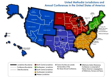Central Texas UMC Will GC Remake The UMC Map - Us delegates map